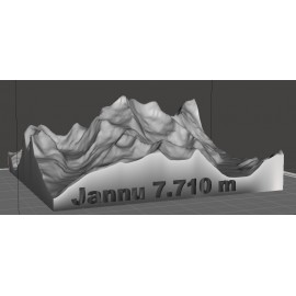 Jannu 7.710 m