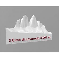 3 Cime di Lavaredo 3.001 m
